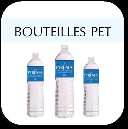 Bouteilles PET